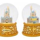 Disney Parks Walt Disney World Cinderella' Castle Musical Snow Globe New
