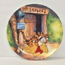 Disney Winnie the Pooh Plate Fun In 100 Acre Woods Hello Pooh Plate 16623D USED