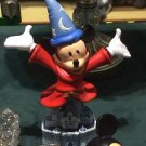 Disneyland 60th Diamond Celebration Sorcerer Mickey Mouse Bust On Castle Figure