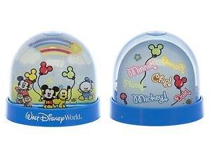 Walt Disney World Exclusive Cuties Character Snow Globe Dome New