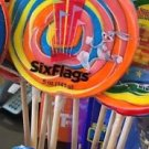 Six Flags Magic Mountain Looney Tunes Bugs Bunny Large Candy Lollipop New