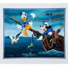 Disney Parks Mickey Mouse & Donald Duck Deluxe Print by Don Williams New
