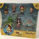 Disney Parks Jake & The Neverland Pirates 7 Piece Collectible Figure New In Box