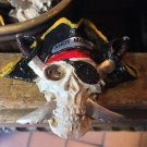 Disney Parks Pirates of The Caribbean Skull With Cross Swords Magnet New