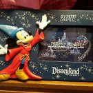 Disneyland Resort 2017 Sorcerer Mickey Mouse Resin Photo Frame Holds A 4x6 New