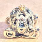 Disney Pandora Charm Cinderella's Carriage Sterling Silver & 14k NEW WITH BOX
