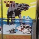 Disney Parks Star Wars Episode V Ice Planet Hoth Poster Metal Magnet New
