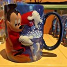 Disneyland Resort 2017 Sorcerer Mickey Mouse Raised Ceramic Coffee Mug Cup New