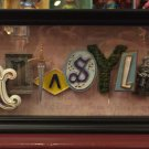 Disneyland 60th Fantasyland Icon Shadow Box by Dave Avanzino New with Box