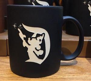 Disneyland Resort 2017 Sorcerer Mickey Mouse Matte Finish Coffee Mug Cup New