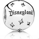 Disney Parks exclusive Disneyland Pandora Sterling Silver Charm NEW WITH BOX