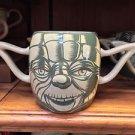 Disney Parks Star Wars Jedi Master Yoda Ceramic Mug New