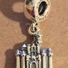 Disney Pandora Sleeping Beautys Castle Princess Aurora Silver Charm NEW WITH BOX