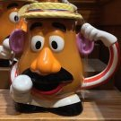 Disney Parks Toy Story Mania Mr Potato Head Ceramic Travel Coffee Mug W/ Lid New