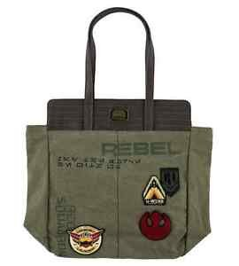 Disney Parks Star Wars Rogue One Tote Bag by Loungefly New with Tags