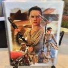 Disney WonderGround Gallery Star Wars Rey The Scavenger Postcard Joe Corroney