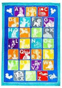 Disney Parks Disney Icons Mickey And Friends Alphabet Throw New and Sealed