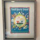 DISNEY WONDERGROUND SMALL WORLD TRAVEL IT'S A SMALL WORLD PRINT DAVE PERILLO NEW