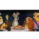 Disney Parks Lady and The Tramp Serenade For The Lady Giclee' by St. Laurent New