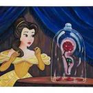 Disney Parks Beauty And Th Beast Enchanted Rose Canvas Wrap by O'Hara New in Box