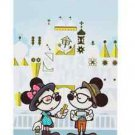 Disney WonderGround Hipster Small World Selfies Notebook by Jerrod Maruyama New