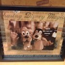 Disney Parks Frosted Glass Float Picture Photo Frame Sharing Moments Quotes New