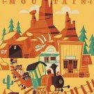 Disney WonderGround Frontierland Big Thunder Mountain Railroad by Ben Burch New