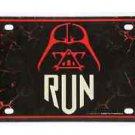 Disney Parks RunDisney Disney Run Star Wars Darth Vader Metal License Plate New