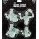 Disney Parks Haunted Mansion Glow in the Dark Magnet Set of 4 New