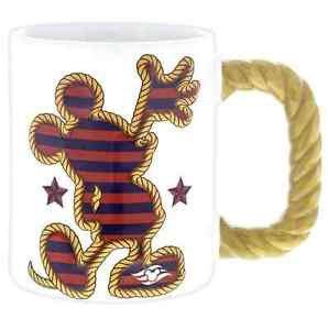 Disney Cruise Line Mickey Mouse Knots Mug 16oz New