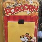 Disney Parks Main Street Popcorn Sticky Note Magnet Set New
