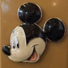 DISNEY PARKS MICKEY MOUSE FACE ACRYLIC METAL MAGNET NEW