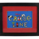 Disney Cruise Line Exclusive Framed Pin Set New in Box