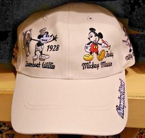 Disneyland Resort Disney Parks Mickey Mouse Over the Years Strap Back Hat Cap
