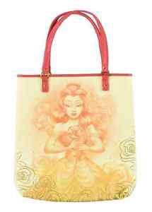 Disney Parks Beauty And The Beast Princess Belle Tote  Bag by Loungefly New