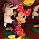 Disney Parks Minnie Mouse Resin Figurine Photo Holder / Paper Weight New