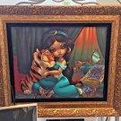 Disney WonderGround Aladdin's Jasmine & Rajah Giclee by Jasmine Becket-Griffith