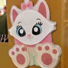 DISNEY PARKS EXCLUSIVE ARISTOCATS MARIE CAT ACRYLIC MAGNET NEW