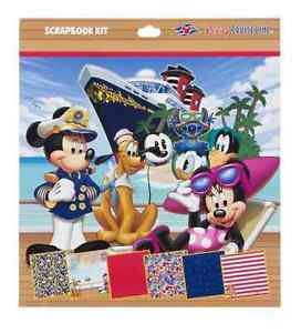Disney Cruise Line Exclusive Scrapbook Kit New & Sealed