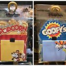 Disney Parks Main Street Popcorn and Goofy's Candy Co. Sticky Note Magnet Set