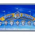 DISNEY PARKS WALT DISNEY WORLD WELCOME TO THE MAGIC KINGDOM SIGN