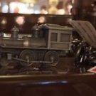 DISNEYLAND RESORT RAILROAD TRAIN METAL KEYCHAIN NEW