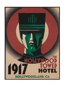 DISNEY PARKS HOLLYWOOD STUDIOS THE HOLLYWOOD TOWER HOTEL WOOD SIGN NEW