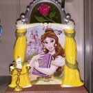 Disney Parks Beauty And The Beast Princess Bell Resin 3-D Picture Photo Frame