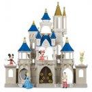 Disney Parks Mickey & Friends Cinderella Castle Play Set New Edition New w/ Box