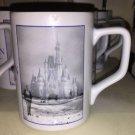 Disney Parks Walt Disney Vision Poster Art Cinderella Castle Ceramic Coffee Mug