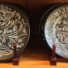 Disney Parks Beauty and The Beast Be Our Guest Dessert Plate New (Set of 2)