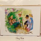Disney Parks Disney Story Book Collection Peter Pan & The Lost Boys Print