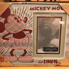Disney Parks Mickey Mouse Est. 1928 Photo Frame Holds a 4x6 New w/ Box