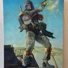 Disney WonderGround Star Wars Bounty Hunter Boba Fett Canvas Print Steve Daily